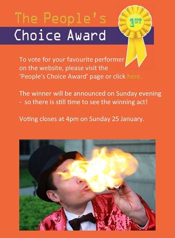 Peoples' Choice award